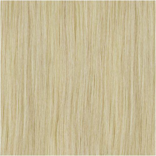 SHE Echthaarsträhne Weiß-Asch-Blond - Farbe 1000